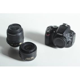 Nikon D5100 + Af-s Dx 35mm F1.8 + Af-s Dx 18-55mm F3.5-5.6