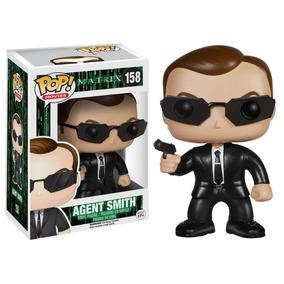 Boneco Pop Funko Agent Smith Matrix Figura De Ação Envio Ja