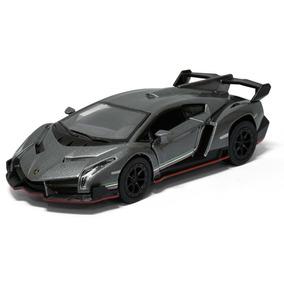Carrinho De Coleção Lamborghini Veneno De Ferro 13 Cm