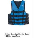 Colete Esportivo Nautika Coast 120 Kg