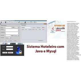 Curso Java, Crie Um Sistema Hoteleiro, Código Fonte Completo