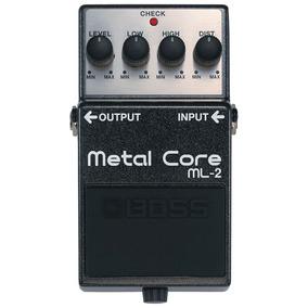 Pedal Guitarra Metal Core Ml2 Boss