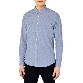 Camisa De Oficina Manga Larga Para Hombre 3xl Y 4xl 3ee4bf5356168