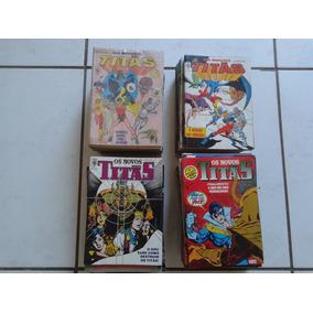 Os Novos Titas Editora Abril ( Lote 05 Gibis )