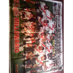 Afiche River Plate Campeon Apertura 1999