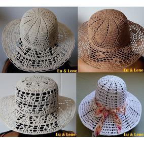Preço De Chapeu De Croche - Arte e Artesanato no Mercado Livre Brasil 443186f28cc