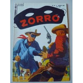 Zorro Nº49(1ª Série) Março De 1958 Ebal Muito Bom!