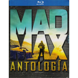 Mad Max Antologia Anthology Coleccion 4 Peliculas Blu-ray