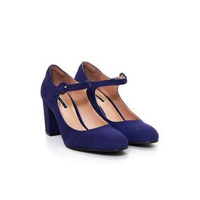 Zapatos De Mujer Via Uno 18179501 Nobuck Oceania