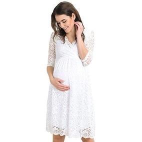 Vestido Casual Maternidad Fiesta 6 Talla L Marca Hello Miz