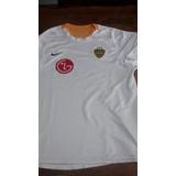 Blanco Camiseta Nike Ss Striped Division Ii Azul - Fútbol en Mercado ... 2b188ef97b348
