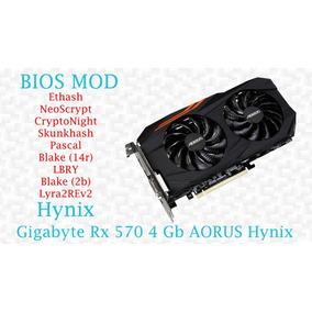 Biosmod Gigabyte Rx 570 4 Gb Aorus Hynix