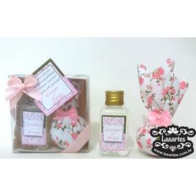7 Kit Sache Aromatizador Lembrancinha Maternidade Flores