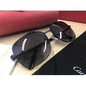 6df0cb8d194 Oculos Aviador Santos Dumont Cartier - Óculos no Mercado Livre Brasil