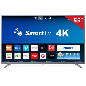 Smart Tv Led 55 55pug6513 Philips, 4k Hdmi Usb Com Sistema