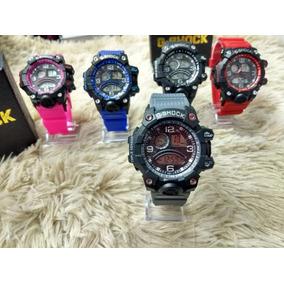 4832d1245bc Relogio Casio G Shock Cinza E Azul - Relógios no Mercado Livre Brasil