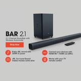 Barra De Sonido Jbl 2.1 Wireless/ Bluetooh 300w
