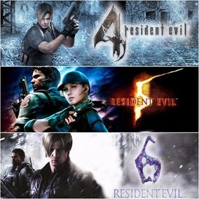 Resident Evil 4 5 6 Game Midia Digital Jogo Ps4 Psn