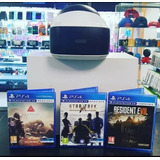 Ps4 Pro Slim 4k 1tb 3juegos+realida Virtual+2 Mandos