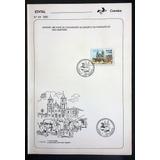 Edital Nº 33 - 1990 Sergipe Sao Cristovao Com Selo Cpd