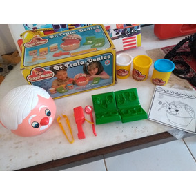 Super Massa Dr Trata Dentes Brinquedo Estrela Anos 90