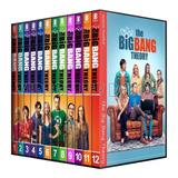 The Big Bang Theory Importe Por Temporada Dvd Serie