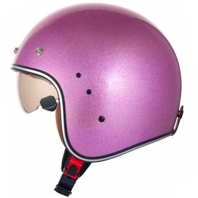 Capacete Zeus 380fa Pink Glitter