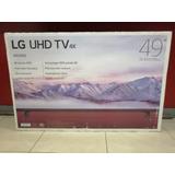 Pantalla Lg 49 4k Hdr Smart Tv! Grupo Villa