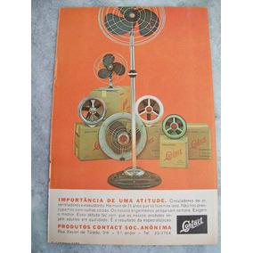 Propaganda Antiga Circulador, Ventilador, Exaustor Contact