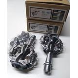 Pedal Zeray Spd Zp 108s Mtb Compatível Shimano Preto