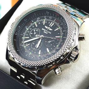 99d3954fd6f Relógio Breitling For Bentley Aço Prata À Prova D´água