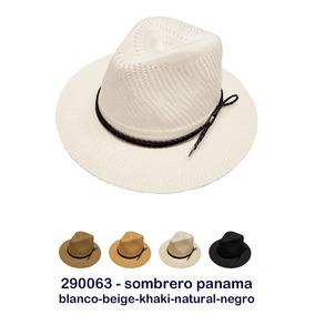 Sombrero Blanco Hombre - Ropa y Accesorios Negro en Mercado Libre ... f8704998cbe