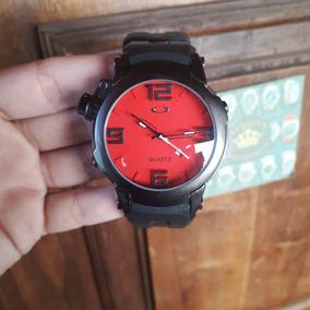 522e8205dab Relogio Oakley Fundo Vermelho Mais - Relógios De Pulso no Mercado ...