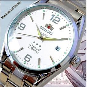 d7404c0114e Relogio Marca Orient Movimento Mecânico Automático Original.