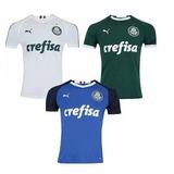 Kit 3 Camisa Do Palmeiras Verdão Nova 2019 Palestra Unif 1 2