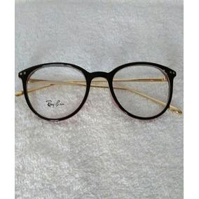 65e8a404eb6fa Armação Óculos De Grau Ray-ban   Com Lindo Brinde De Natal