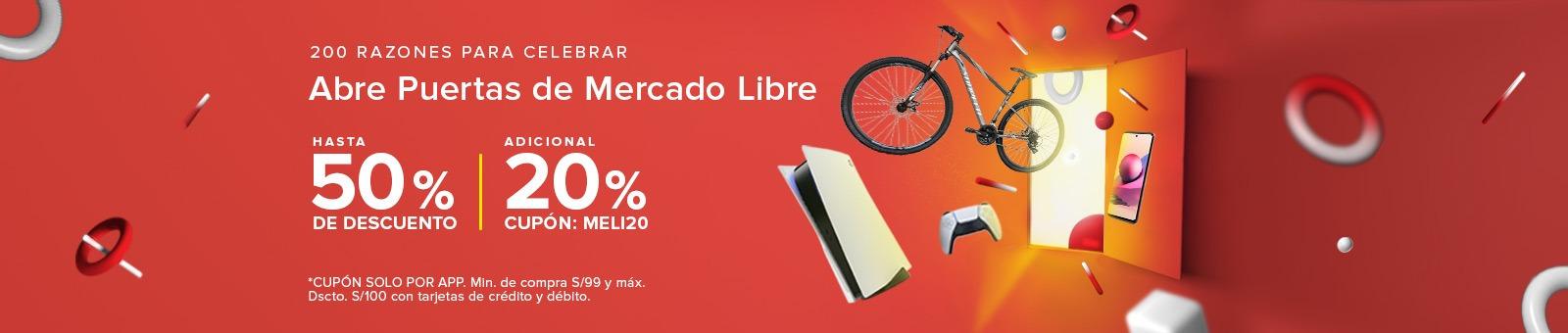 ¡ABRE PUERTAS de Mercado Libre!