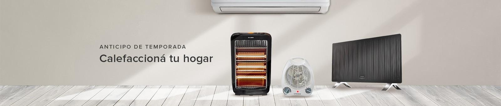 Calefaccioná tu hogar