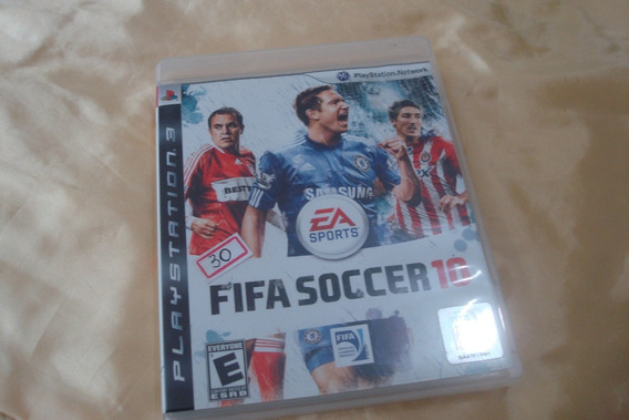 Play 3 Jogo Soccer Fifa 2010 Original Com Manual