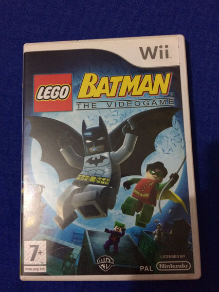 Lego Batman The Video Game Pal Original Nintendo Wii Europeu