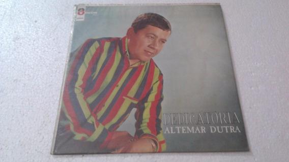 Lp Vinil Altemar Dutra - Dedicatória