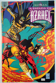 Hq Gibi Batman A Espada De Azrael Parte 1 Abril Ano 1996
