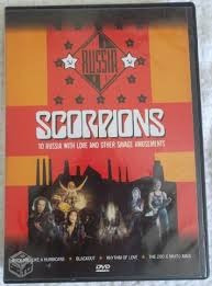 Dvd - Scorpions - To Russia With Love And Other Savage Amuse