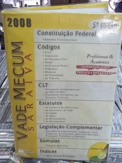 Vade Mecum 2008 Saraiva Livro Bom Estado