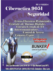 Cercos Eléctricos Perimetrales 0414 3531163