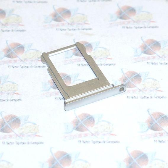 Bandeja Porta Sim Apple Iphone 7 Plus Original Plata