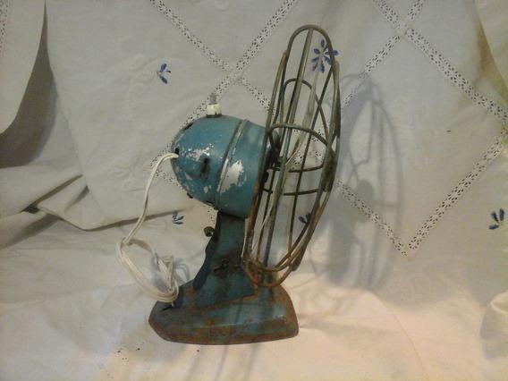 Antiguo Ventilador De Mesa Marca Alce Leer