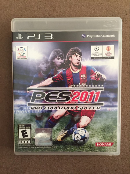 Jogo Pes 2011 - Pro Evolution Soccer (ps3 - Mídia Física)