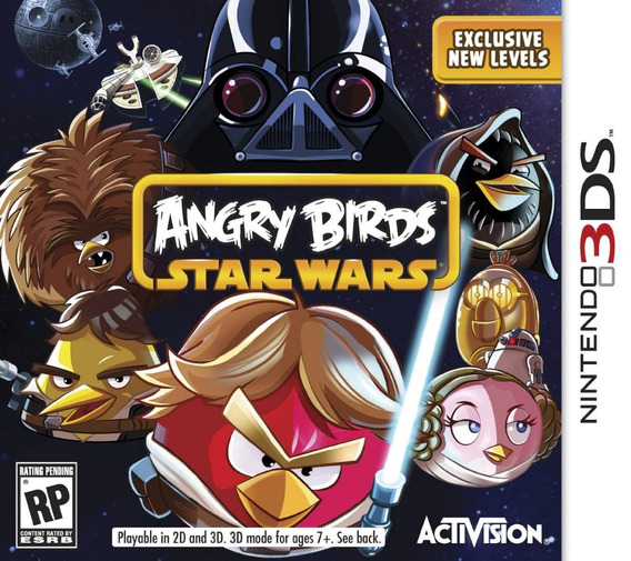 Jogo Novo Lacrado Angry Birds Star Wars Para Nintendo 3ds