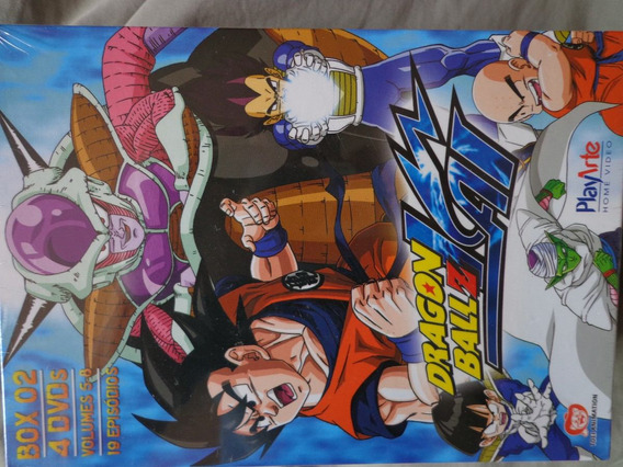 Box Dvd Dragon Ball Z Kai Vol.2, Lacr Dragonball Frete Grati